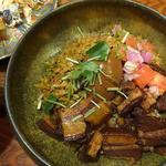 魯肉パリップ定食・魯肉パリップ飯(定食堂 金剛石)