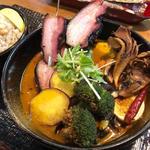 串焼き黒ベーコンと厳選舞茸