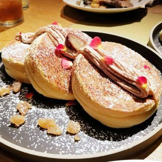 Premium Pancake2018マロン(ハンズ エキスポ カフェ (HANDS EXPO CAFE))