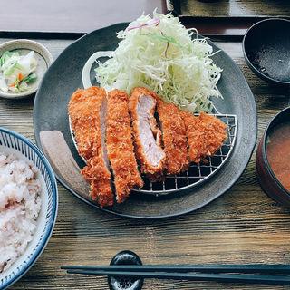 ヒレカツ定食(マ・メゾンのとんかつ 星ヶ丘テラス店 )