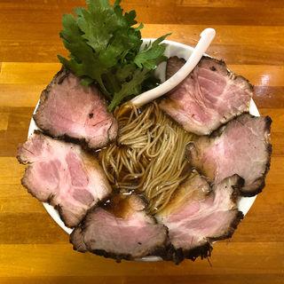 特濃鶏だし青湯 醤油らーめんチャーシュー増(極汁美麺 umami)