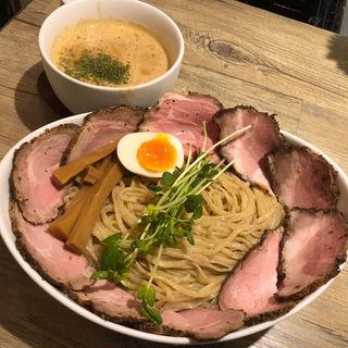 Kani soupつけ麺(肉増し)(アノラーメン製作所 )