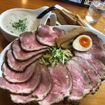 スーパーつけ麺(中) チャーシュー・メンマ
