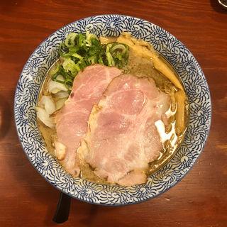 煮干し鶏豚骨(頑固麺 )