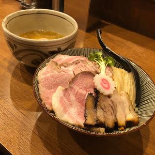 特選鶏つけ麺大盛り(麺屋 NOROMA (ノロマ))