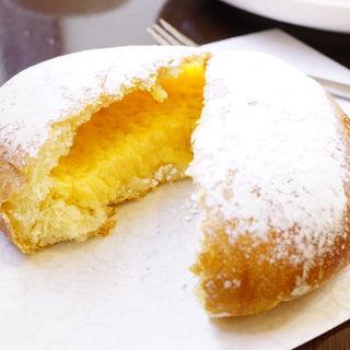 奥久慈卵のクリームパン(boulangerie nukumuku)
