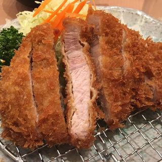黒豚ロースカツ定食(双葉 葛西店 )