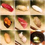 にぎり おまかせ(銀座 久兵衛 銀座本店 (ぎんざ きゅうべえ))