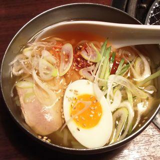 牛角冷麺(ハーフ)(牛角 ミューザ川崎店 )