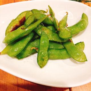 ペペロンチーノ枝豆(ピッツアフォルトゥーナ)