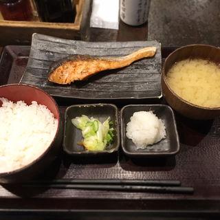 朝じゃけ定食(しんぱち食堂 新宿店 )