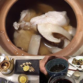 松茸の土瓶蒸しと焼きのセット(1006)