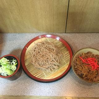 牛丼セット(甲斐そば (カイソバ))