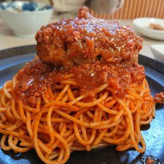 ハンバーグスパゲティ(ユニオン )
