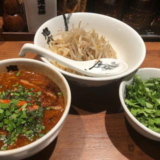 パクチーカラシビつけ麺(カラシビつけ麺 鬼金棒 (キカンボウ))