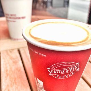 カフェラテ(シアトルズ・ベスト・コーヒー APA神戸三宮店 (SEATTLE'S BEST COFFEE))