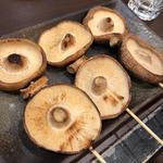 椎茸(串焼き)