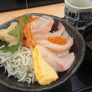仲買の海鮮丼(牧原鮮魚店 )
