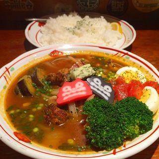 チキンとあさりのスープカレー(吉柳 (キリュウ))