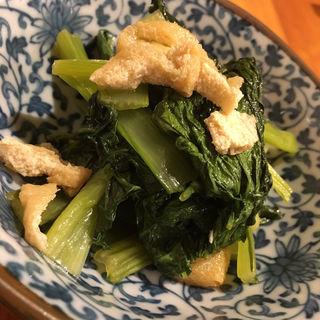 小松菜煮びたし(家庭の味 ほろよい)