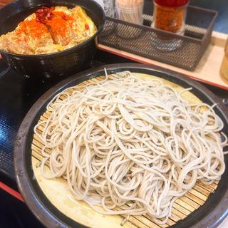 カツ丼セット(ゆで太郎 大森南店 (オオモリミナミ))