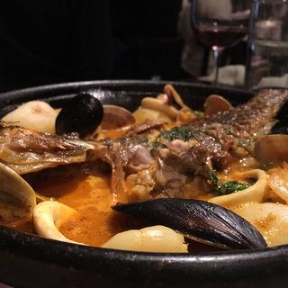 鮮魚のブイヤベース(びすとろ UOKIN はなれ )