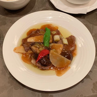 牛肉と野菜のオイスターソース炒め小