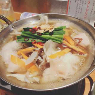 もつ鍋(はかた野菜巻き串 きばくもん)