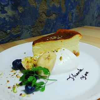 ニューヨークチーズケーキ(Nation diner)