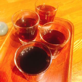 黄酒飲み比べ(回頭)