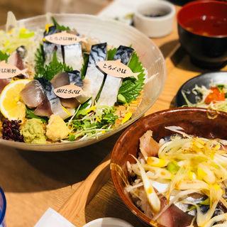さばの漬け丼(SABAR+ なんばCITY店)