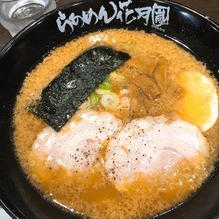 醤油ラーメン(らあめん花月嵐 神田店 )