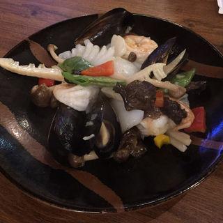 海鮮炒め(海月食堂 (くらげしょくどう))