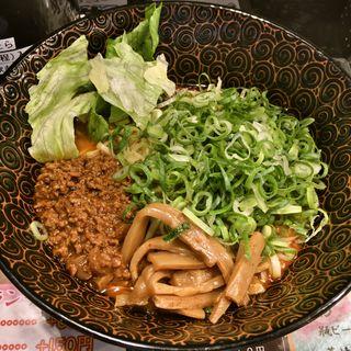 汁なし担々麺(中華そば かなで)