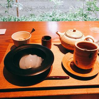 特製 くずもち 飲み物セット(ZEN CAFE)