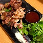 鶏3種塩焼き