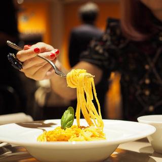 たっぷり北海道産生ウニとクリームソースのスパゲティ(アランチーノOSAKA)