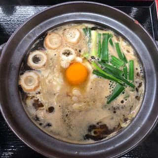 鍋焼きラーメン(鍋焼きラーメン専門店 ちゅるちゅる 福島店)