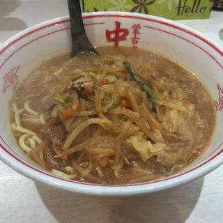 味噌タンメン(蒙古タンメン中本 立川店)