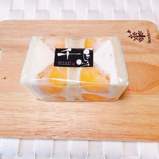 尾藤さんの柿サンド