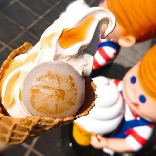大阪みたらし団子ソフトクリーム