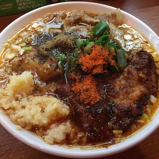 辛口炙り肉ソバ醤油(辛口炙り肉そば ひるドラ 鶴橋店)