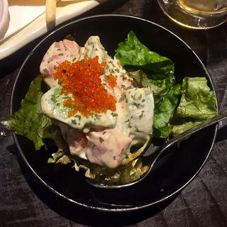 秋鮭とアボカドのタルタル(博多満月 八丁堀店 )