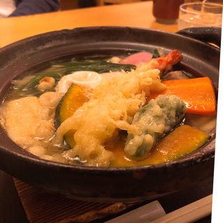 鍋焼きうどん(夢吟坊 三宿店 (むぎんぼう))