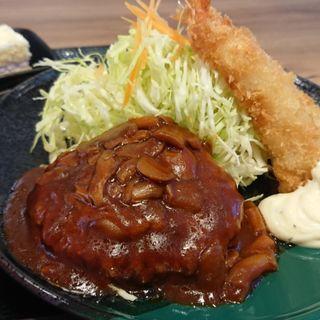 ハンバーグ定食(銀杏亭 (ギンアンテイ))