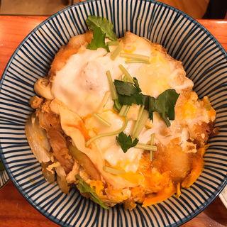 カツ丼定食(とんかつ河 本店)