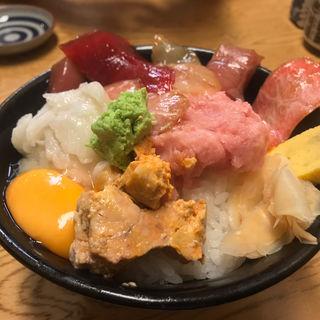 漬け丼(たぬきすし)