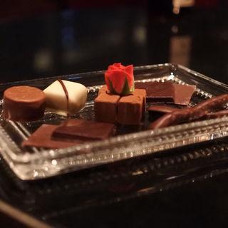 チョコレート盛り合わせ(フライングトマトカフェ )