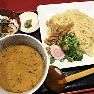 鰻つけ麺・醤油(八べえ)