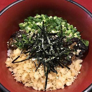 鰻のカブト丼(八べえ)